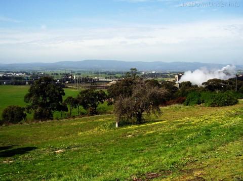 Kopalnia węgla brunatnego w Morwell