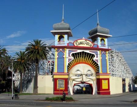 Lunapark w St Kilda