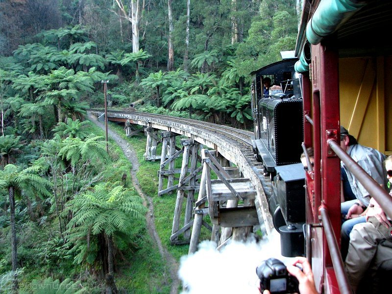 Puffing Billy, Melbourne, Australia