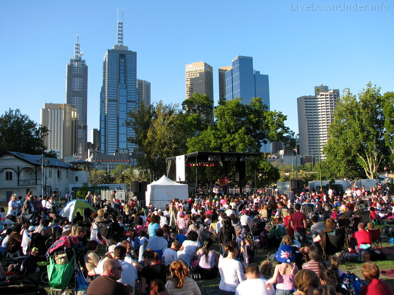 Sylwek w Melbourne