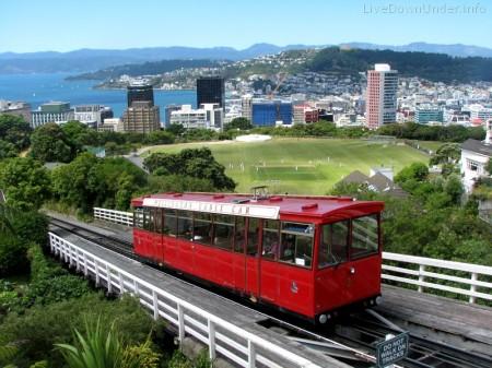 Wellington, stolica Nowej Zelandii, ogród botaniczny