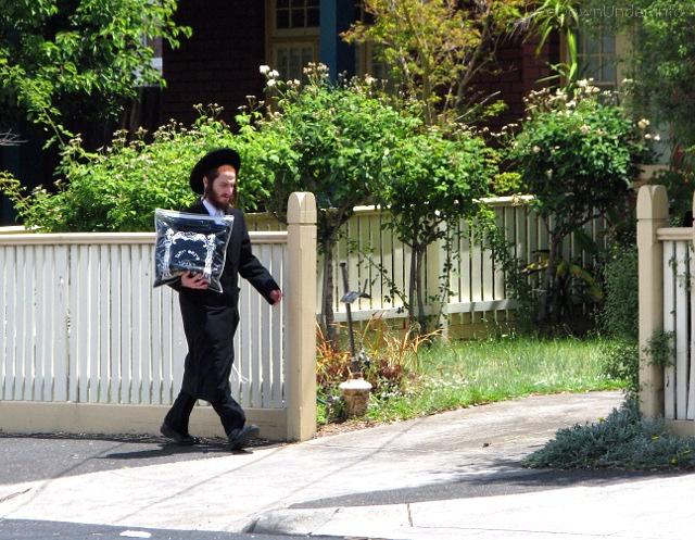 Żyd ortodoksyjny w Melbourne