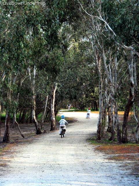 Rowery w Braeside Park
