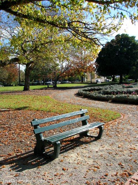 Jesień w Australii, Albert Park, Melbourne