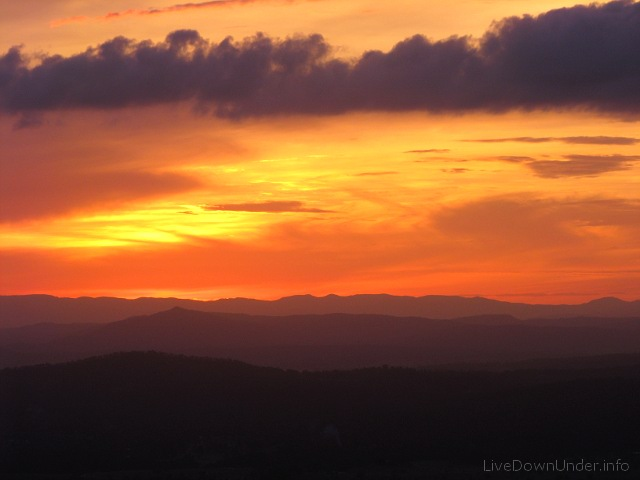 Sunset, Tamborine Mountain
