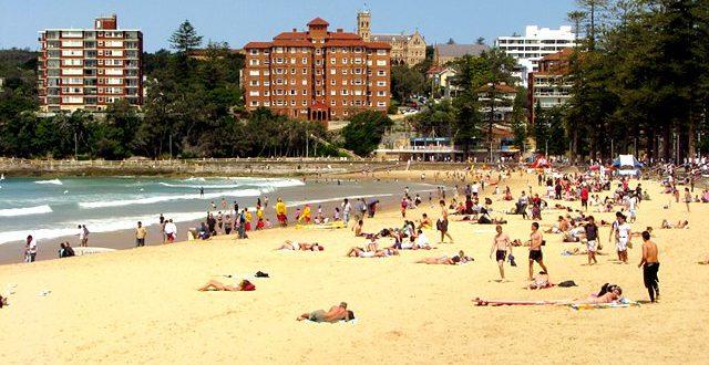Spacerując po Sydney: Manly