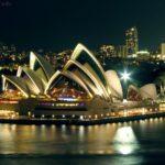 Sydney wieczorową porą