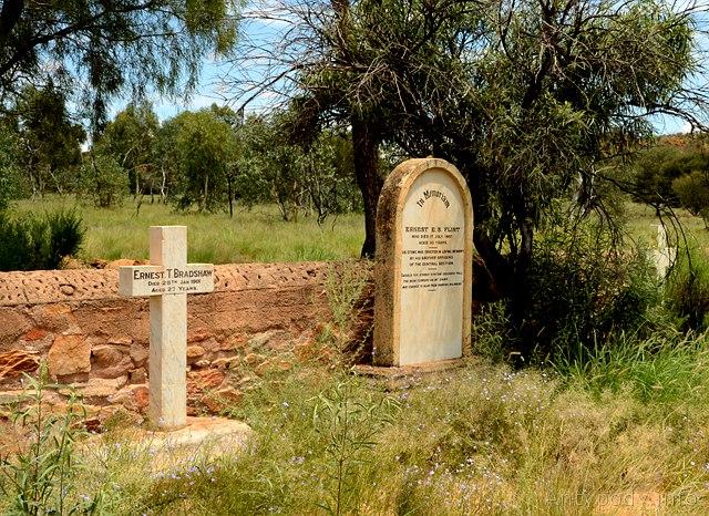 Stary cmentarz, Alice Springs, Australia