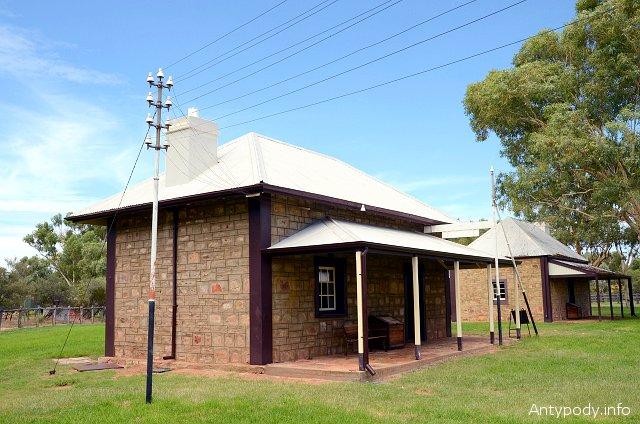 Alice Springs, stacja przekaźnikowa telegrafu