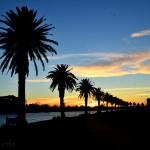 Zachód Słońca nad Albert Park
