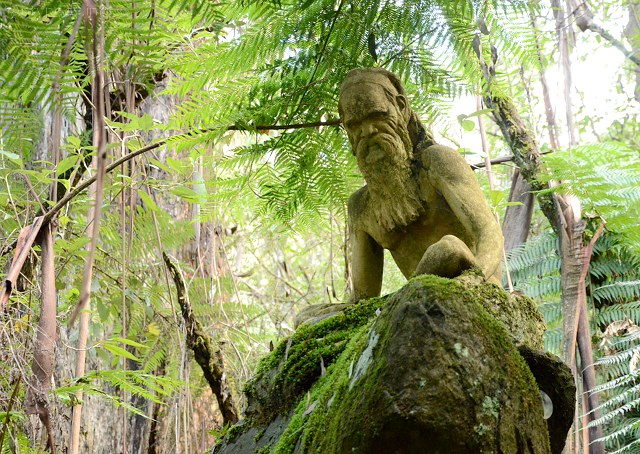 William Ricketts Sanctuary, Dandenongs, Melbourne, Australia