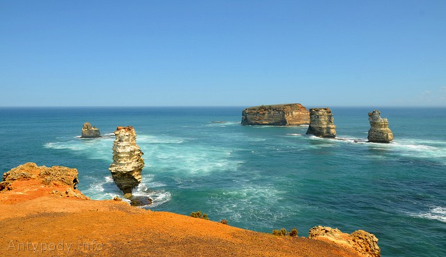 Bay of Islands, Great Ocean Road, Wiktoria, Australia