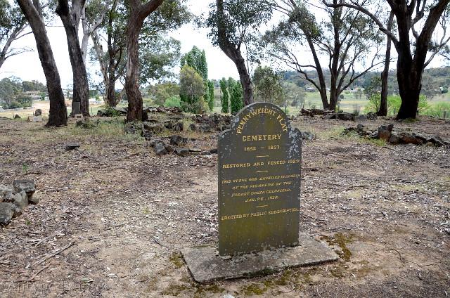 cmentarz pionierów, Castlemaine, Wiktoria, Australia