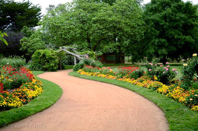 ogród botaniczny, Castlemaine, Wiktoria, Australia