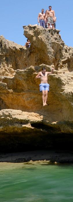 skoki do wody, Blairgowrie, Victoria, Australia