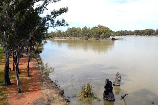 Ujście rzeki Darling do Murray, Australia