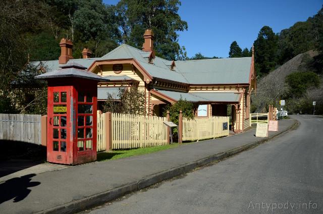 Walhalla, Australia - budynek poczty