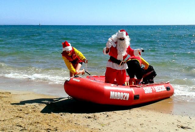 Święty Mikołaj w Australii