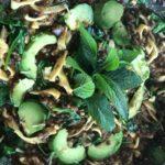 Obiad minimalisty – kluski z chią i czarną fasolą